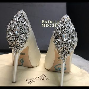 Badgley Mischka Kiara Wedding Shoes